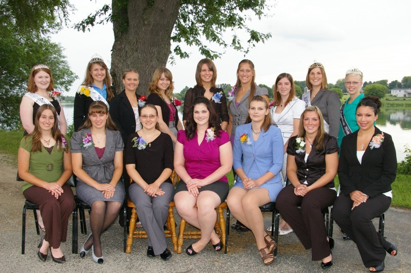 Past Fairest of the Fair Contestants