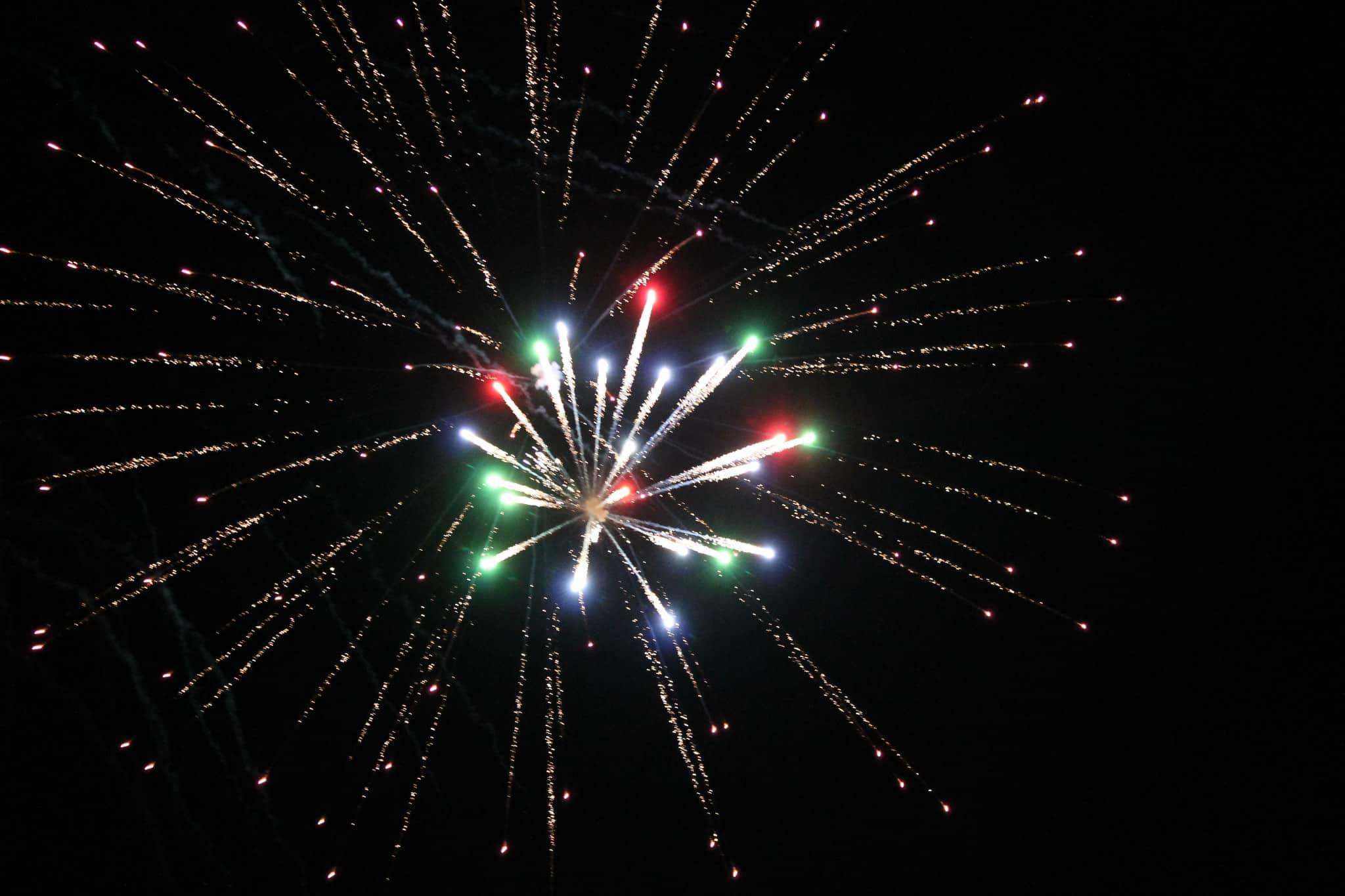 125th Anniversary Fireworks