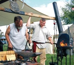 Buckskinners Blacksmithing