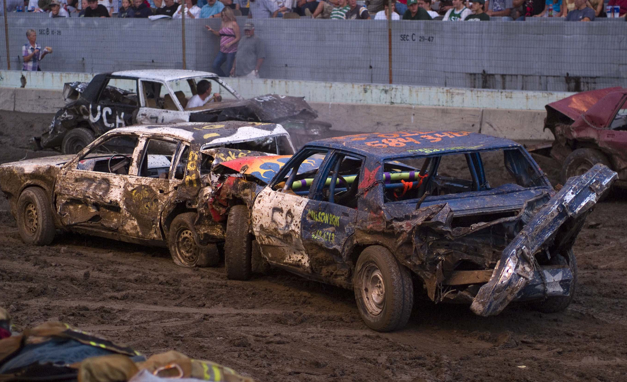 Dirt Track Demo Derby