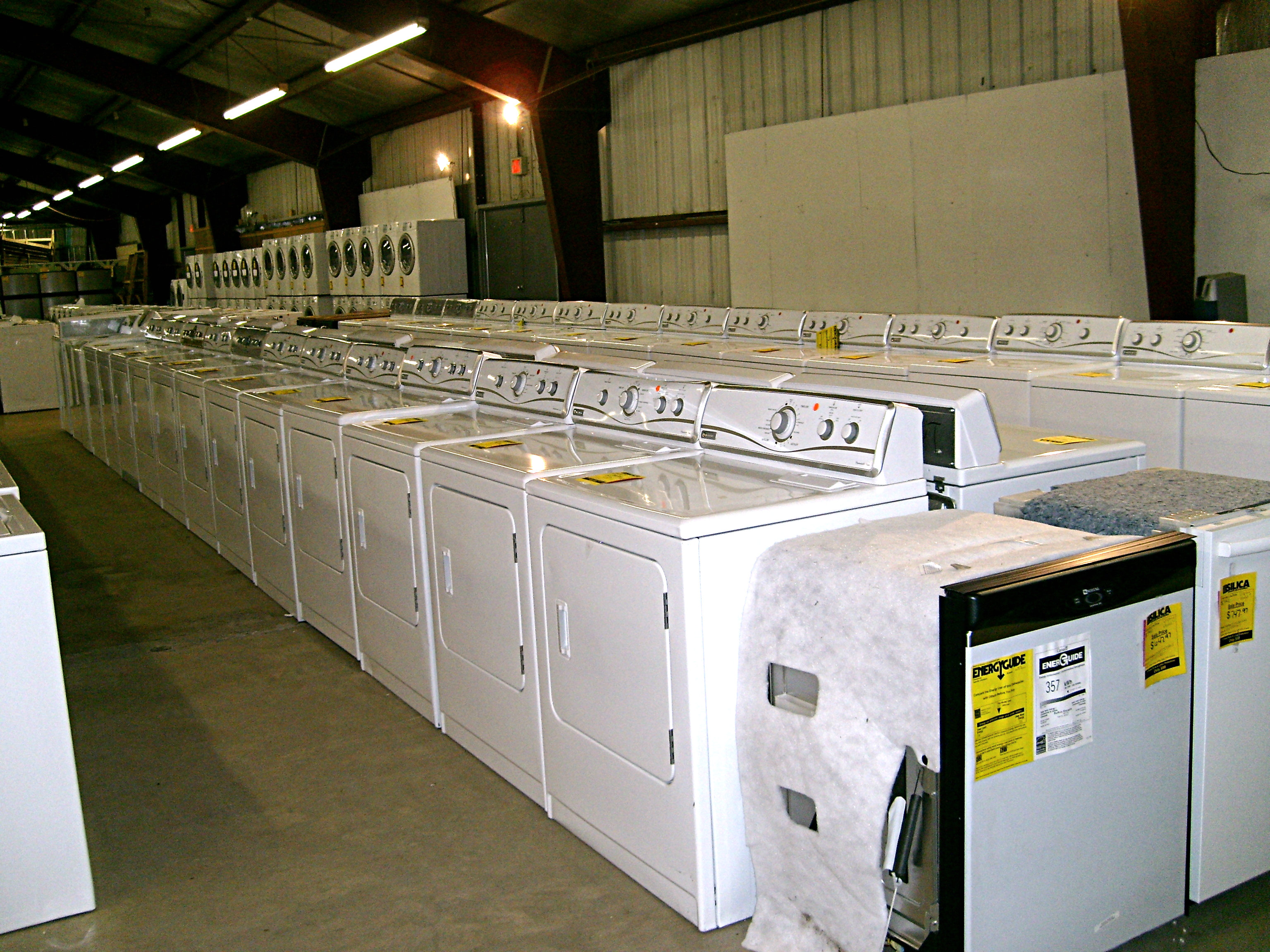 Front Load Dryers Silica Sale