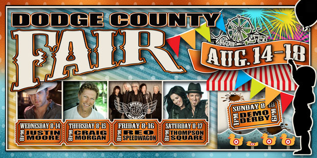 Dodge County Fair Headliners 2013