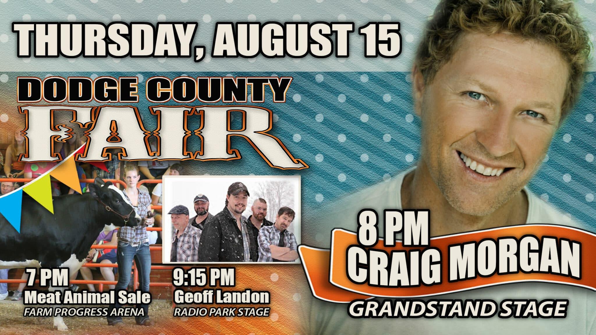 Dodge County Fair Thursday Banner Ad