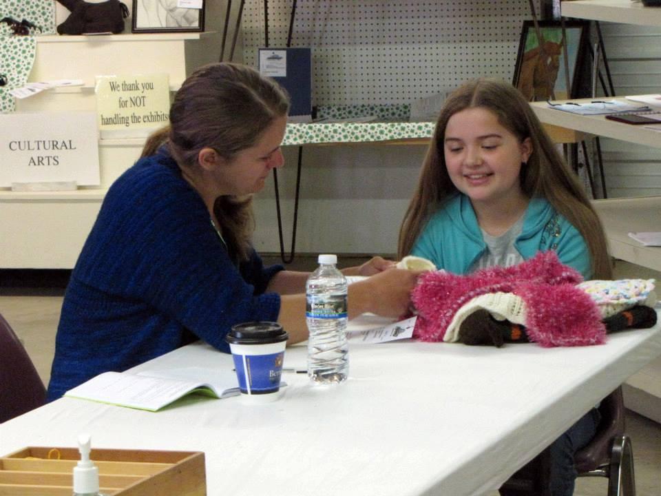 Knitting and Crocheting Junior Fair