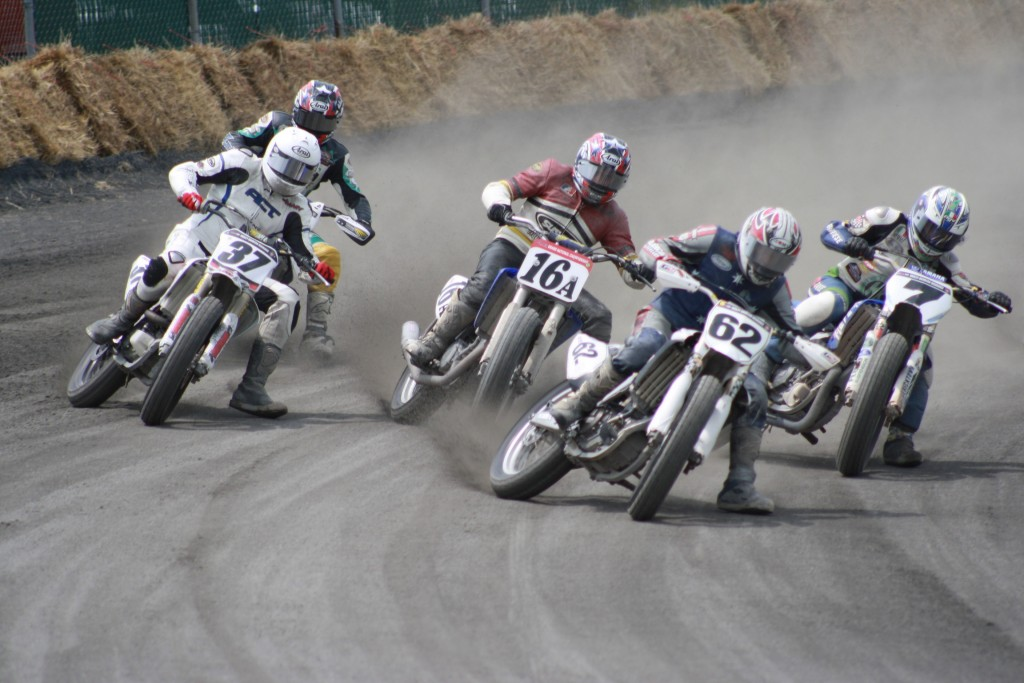 Motorcycle Flat Track Racing