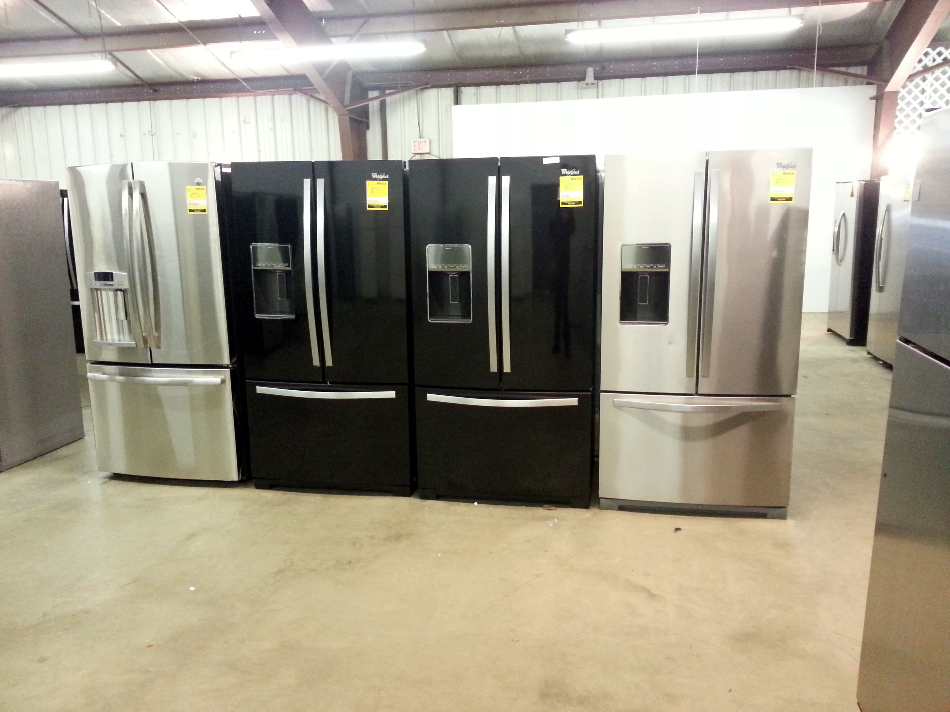 French Door Refrigerators at Silica Liquidation Sale