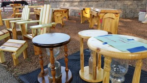Handmade Timeout Stools for Kids