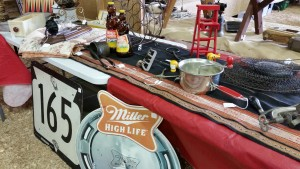 Signs and Rare Items at Dodge County Flea Market