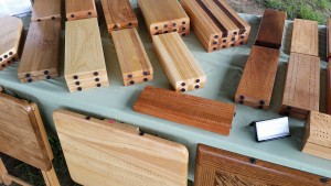 Wood Game Boards at the Flea Market