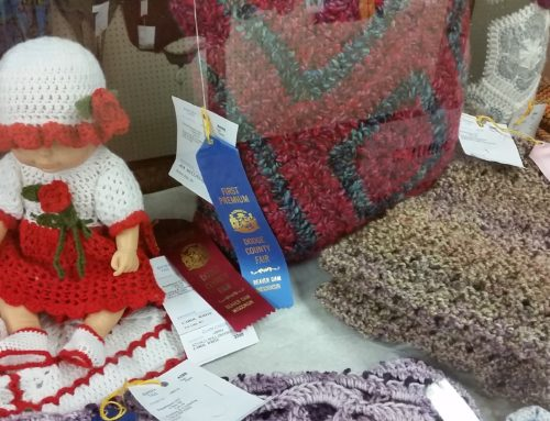 2021 Open Class Knitting and Crocheting Judging Results