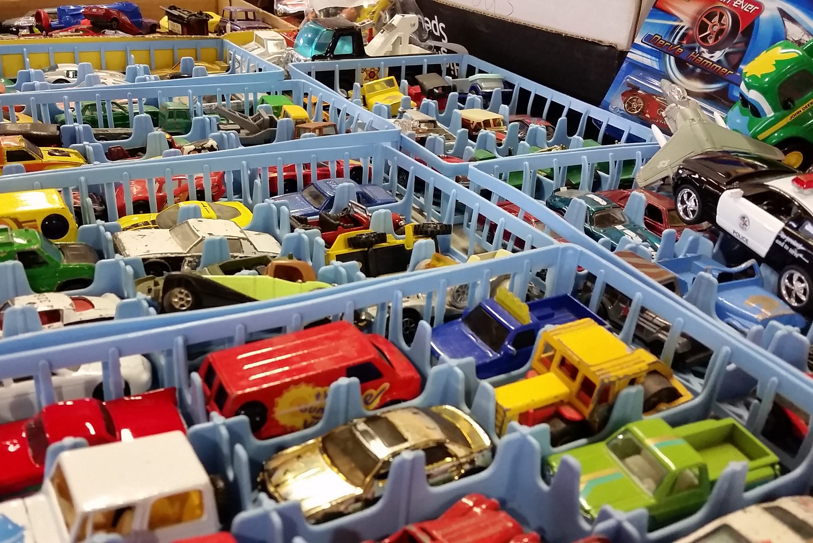 Matchbox Cars at the Dodge County Flea Market
