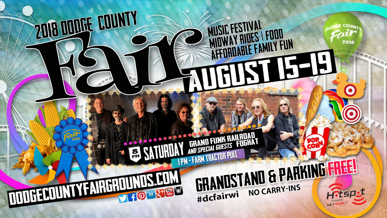 2018-08-18 Dodge County Fair Advertisement