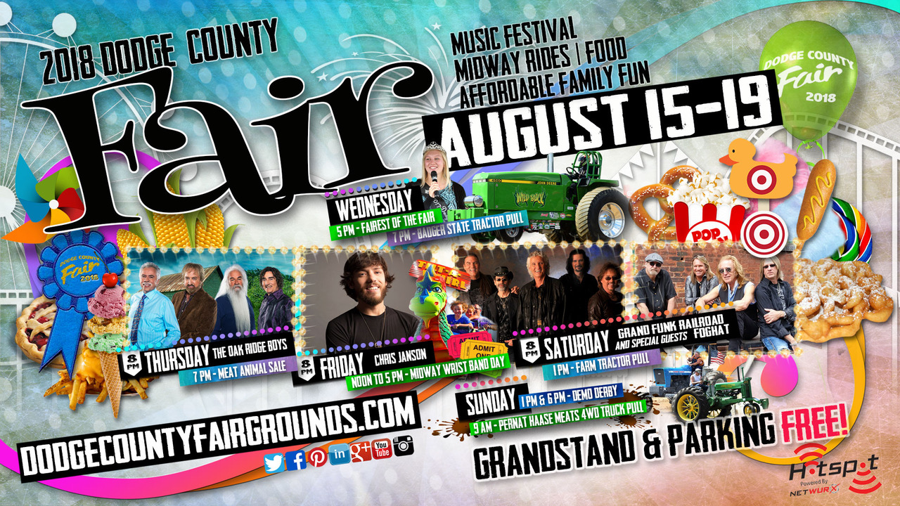 2018 Dodge County Fair August Advertisement