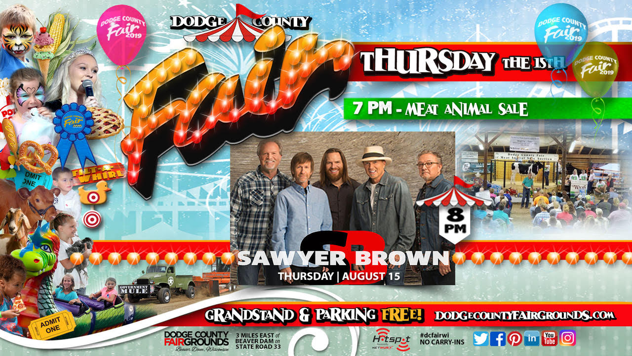 2019-08-15 Thursday Dodge County Fair Promo