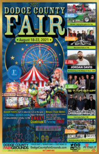2021 Dodge County Fair Advertising Poster