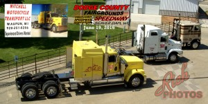 Mitchell Motorcycle Transport at Dodge County Fairgrounds Beaver Dam WI