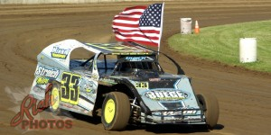 Dan Roedl Parade Lap at Dodge County Fairgrounds Speedway
