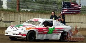 Jessica Ehlers American Flag National Anthem Lap