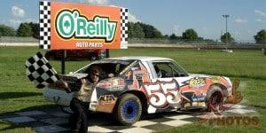 Jesse Krahn The Dump Street Stocks Heat Race Win