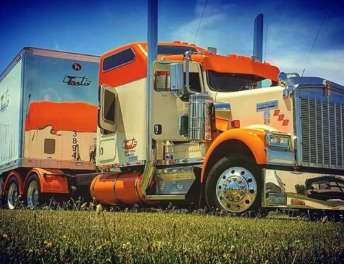 Hallahan's Big Rig featured at Badger State Truck Show