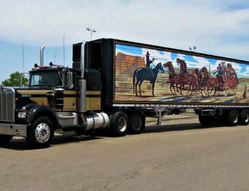 Three Hundred Big Rigs Roll Into Town