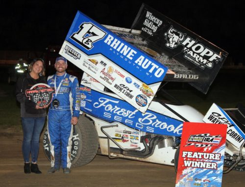 Bill Balog claims victory on Horsepower Half Mile