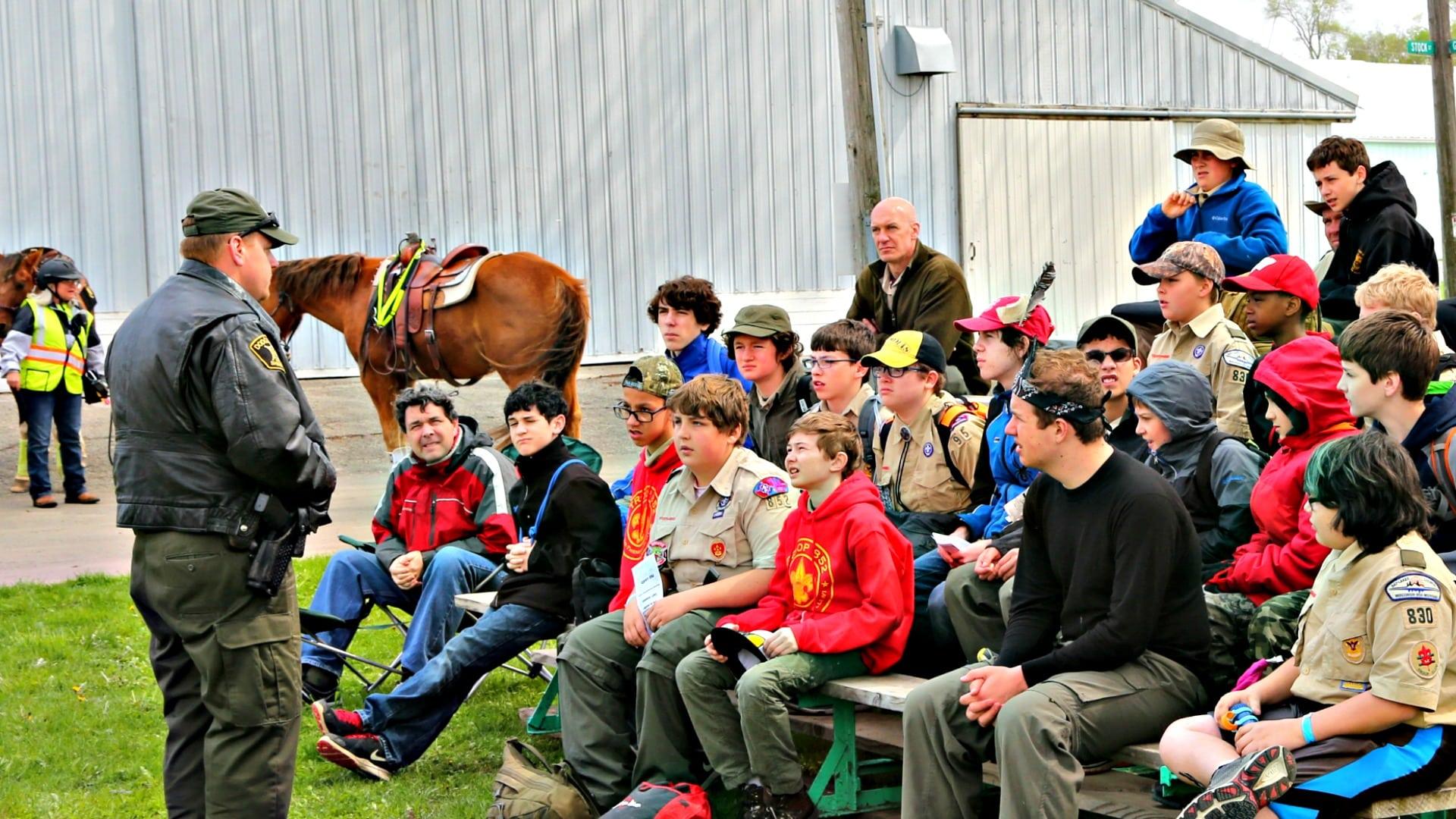 Boy Scout Spring Camporee Dodge County Sheriff Seminars