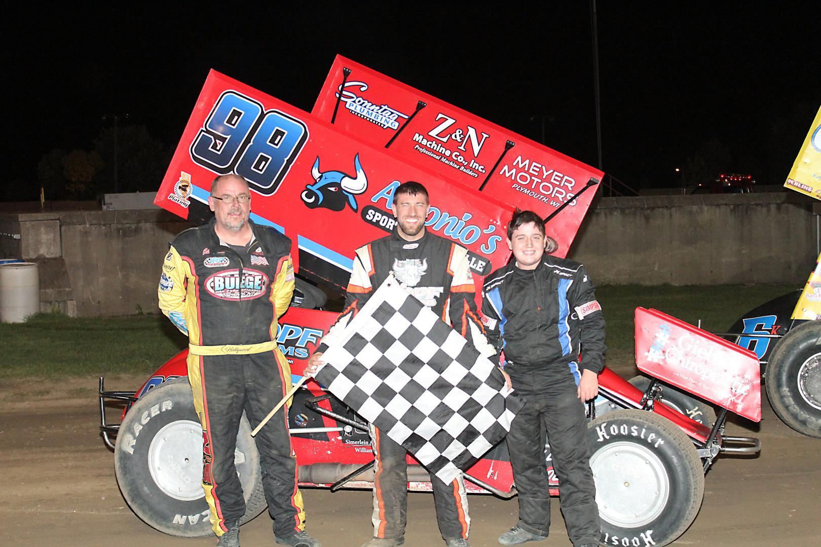 MSA Sprint Car Feature Win