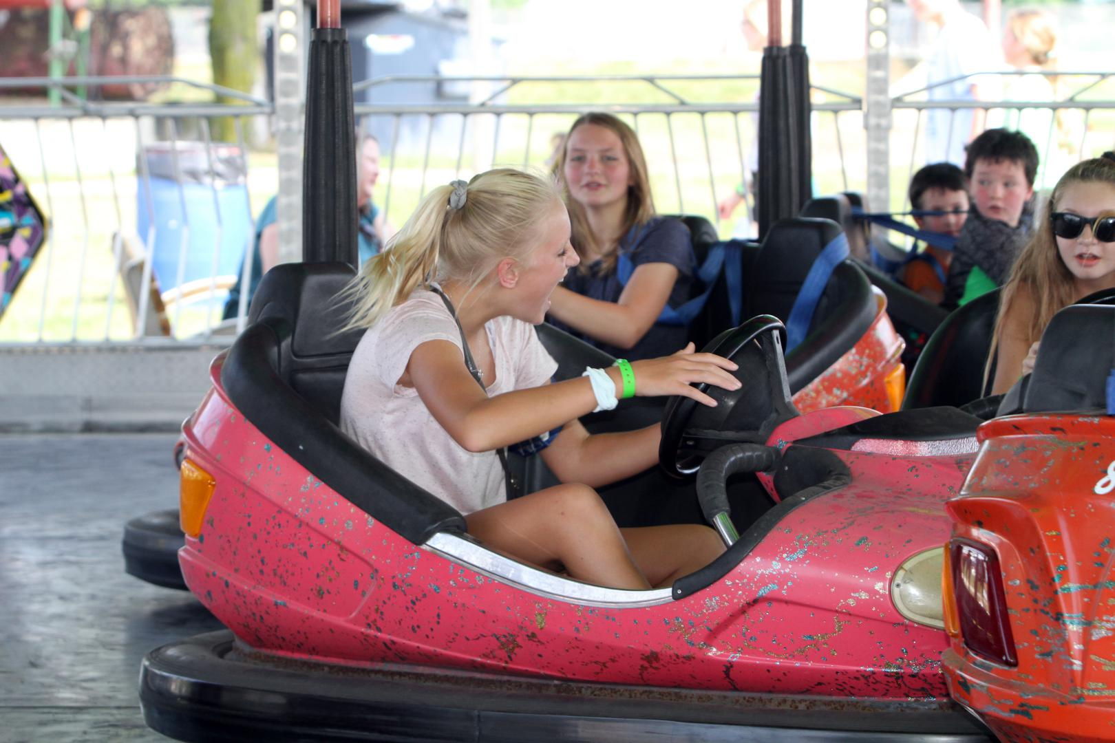 Dodge County Fair Bumper Cars AP Carnival