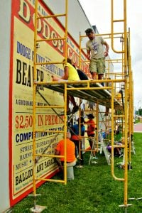 Dodge County Fair Wisconsin Mural Painting