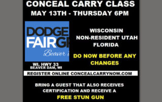 Freedom Firearms Conceal Carry Class at Dodge County Fairgrounds
