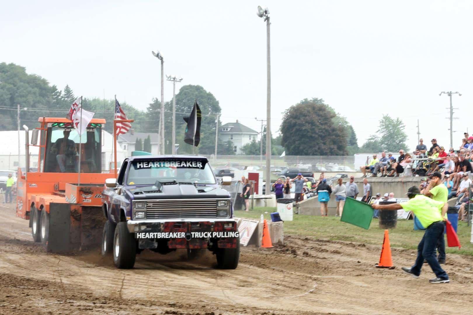Heartbreaker Truck Pulling at Dodge County Fair