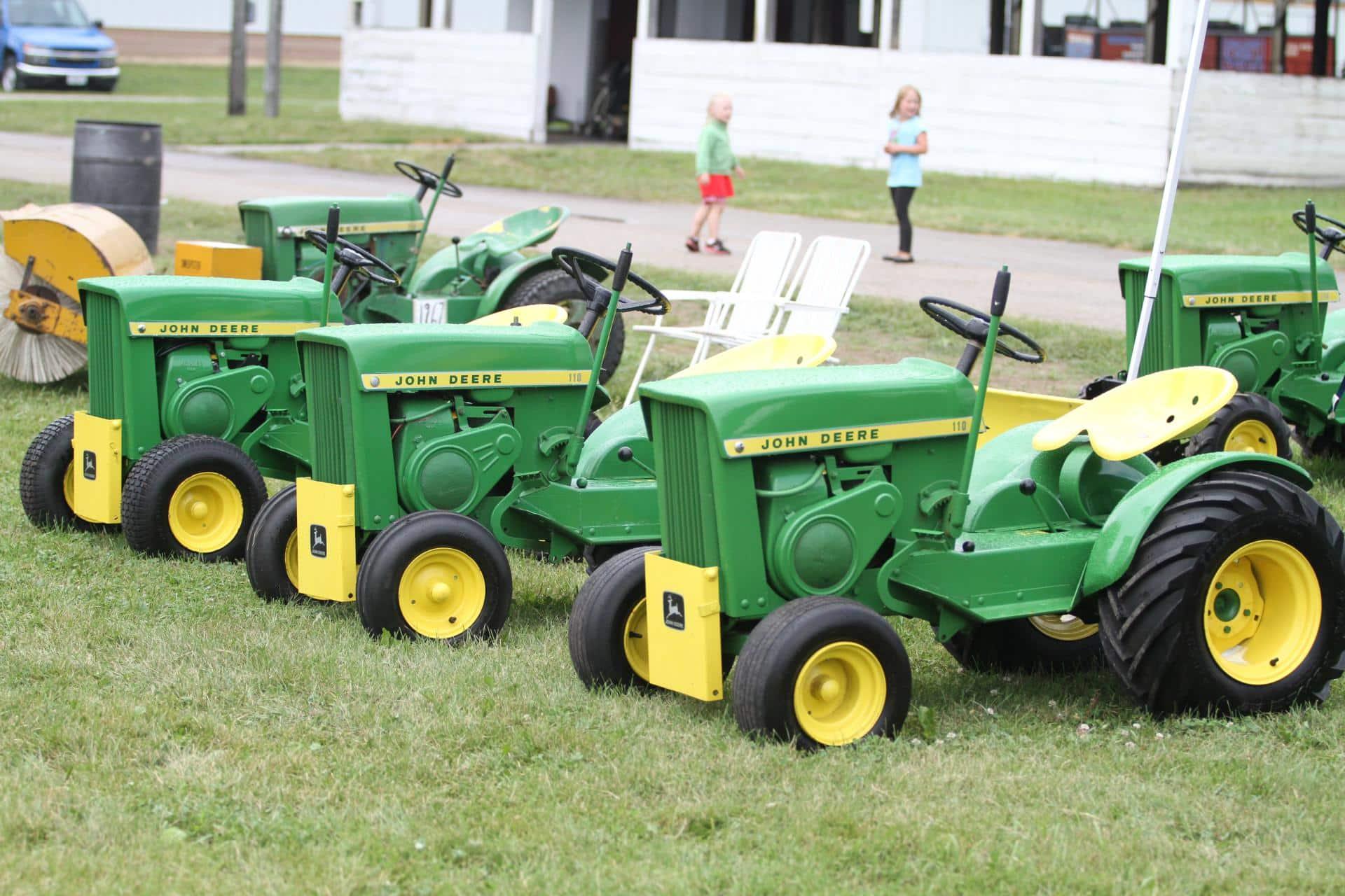 John Deere 110 Collector Tractor Show