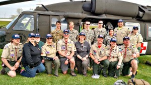 Kettle Country District BSA Leaders Search Rescue Camporee