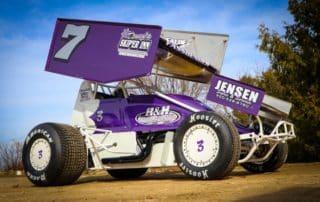 Lance Fassbender 2021 MSA Sprint Car