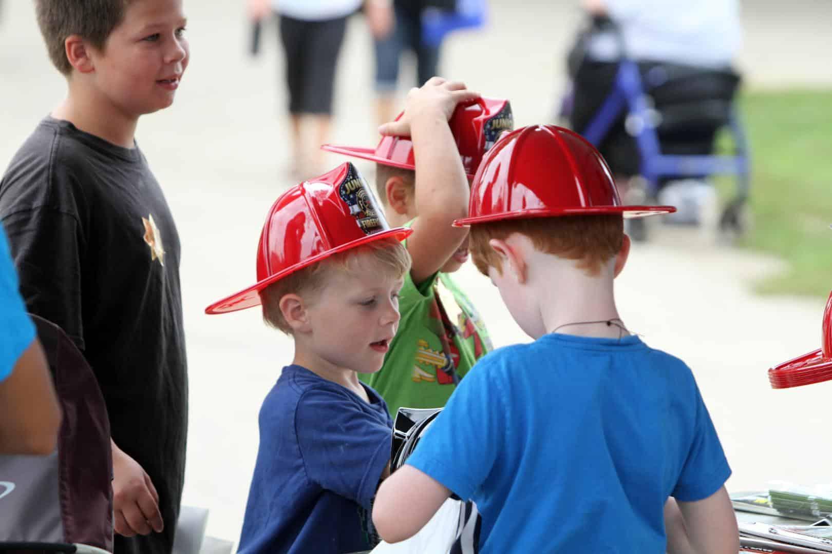 Little Firemen at Dodge County Fair