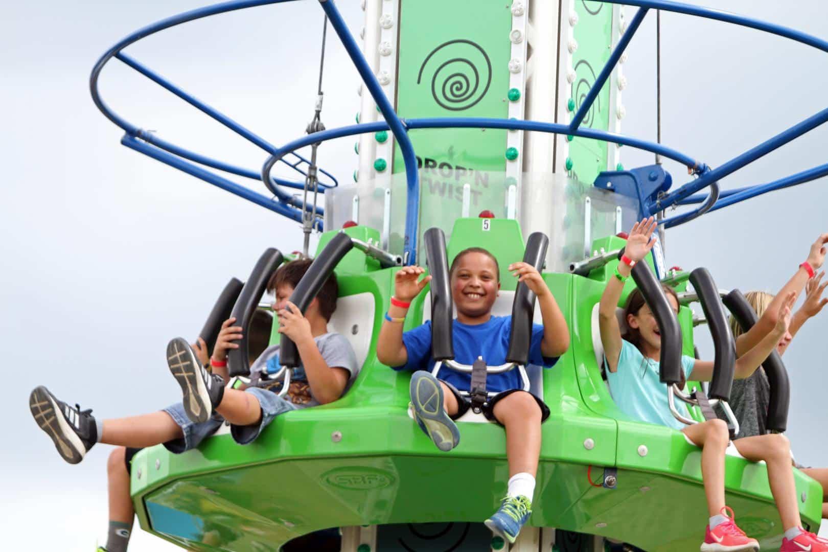 Riding Drop N Twist AP Carnival Wisconsin