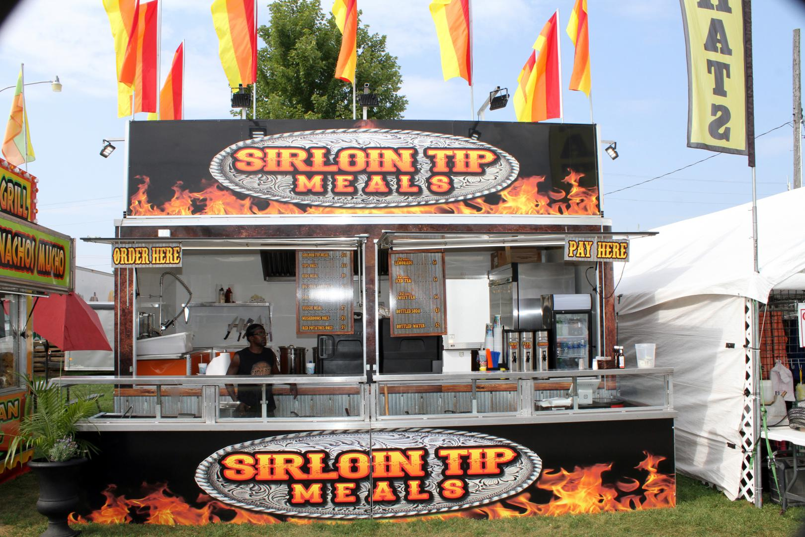 Sirloin Tip Meals Fair Food Wisconsin Festival