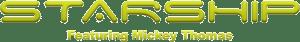 Starship logo featuring Mickey Thomas