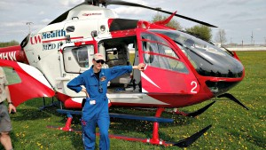 UW Med Flight for Life helicopter Boy Scouts Tour