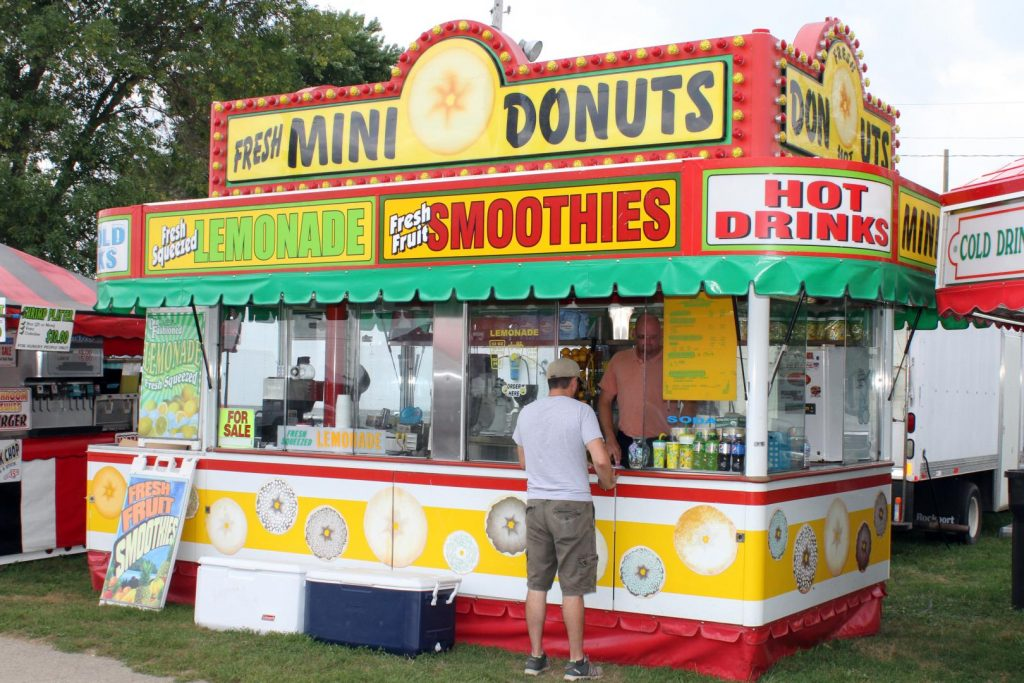Wisconsin Fairs Mini Donut Fair Food Truck