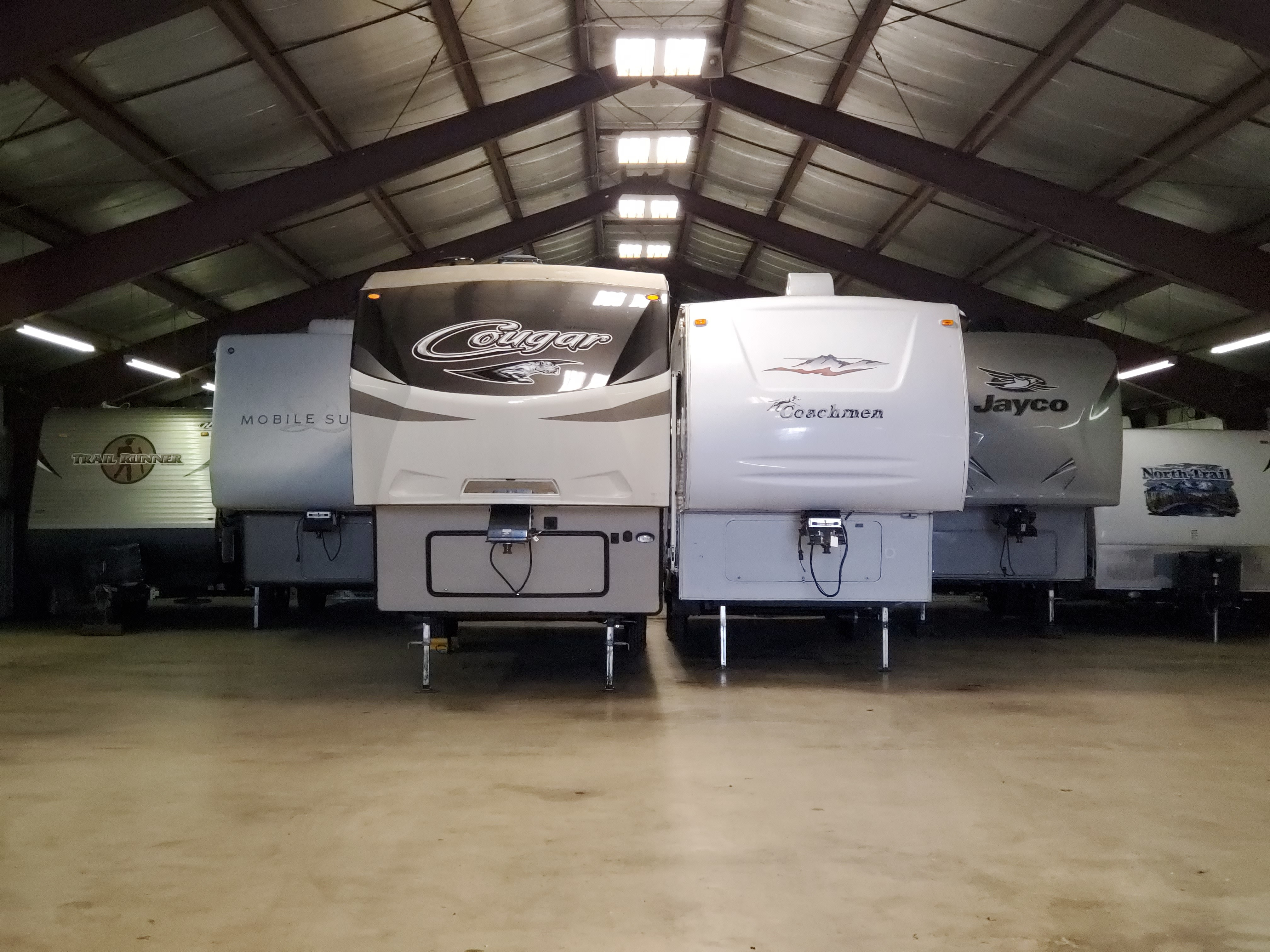 Wisconsin Indoor RV Storage