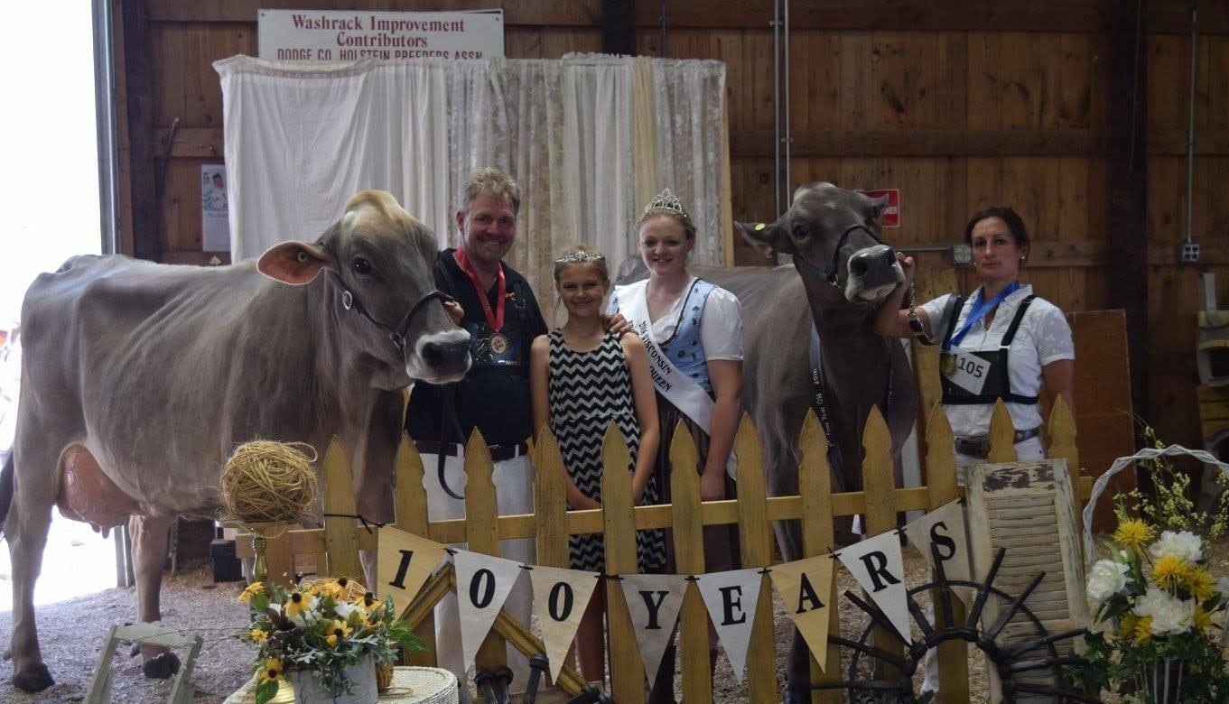 Wisconsin State Brown Swiss Showmanship