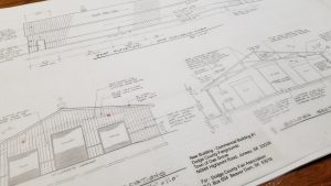 plans new commercial building