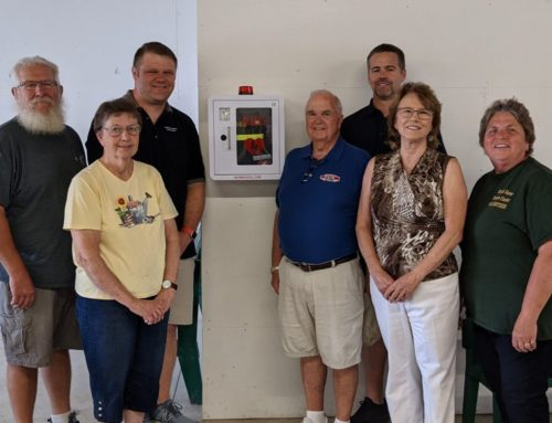 Generous AED donation provides piece-of-mind at Dodge County Fairgrounds