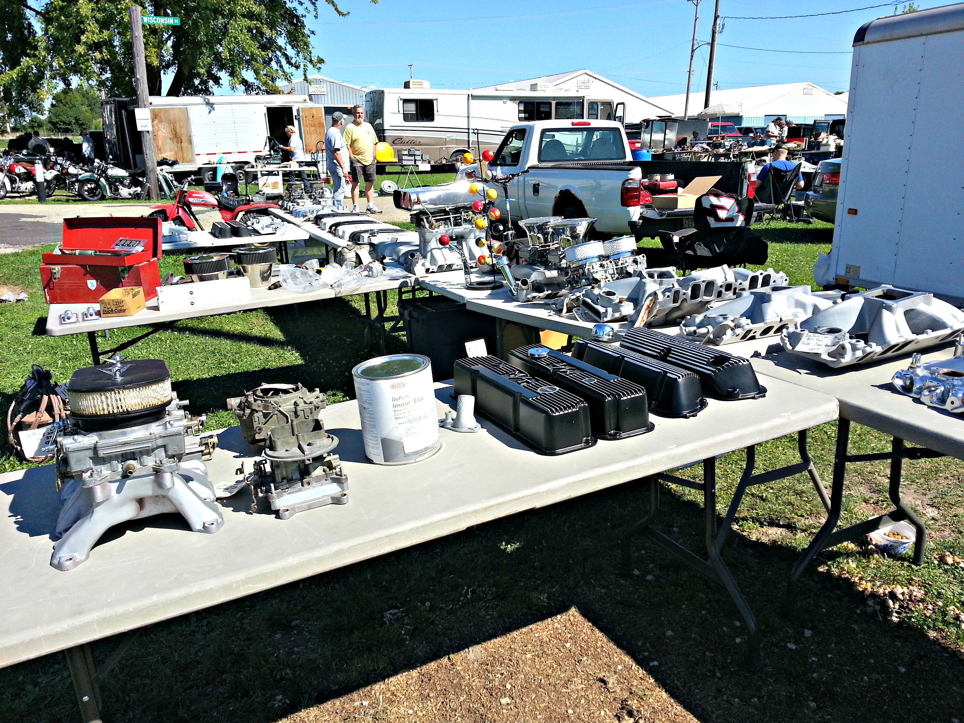 swap meet used car parts beaver dam wisconsin
